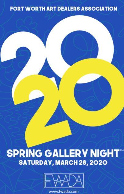 FWADA Spring Gallery Night 2020 COVER