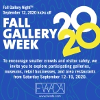 Fall Gallery Night 2020 Square Ad